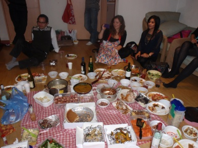 Thanksgiving dinner - After