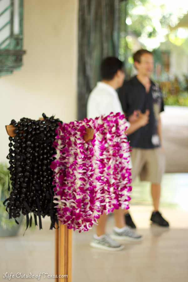 Grand Hyatt Kauai lei