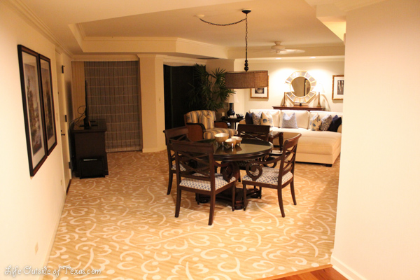 Grand Hyatt Kauai suite