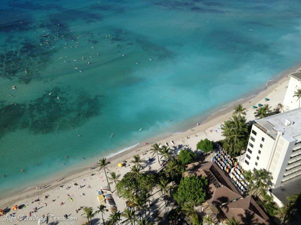 Hyatt Regency Waikiki beach view