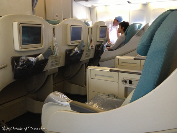 Honolulu to Seoul Korean Air business class