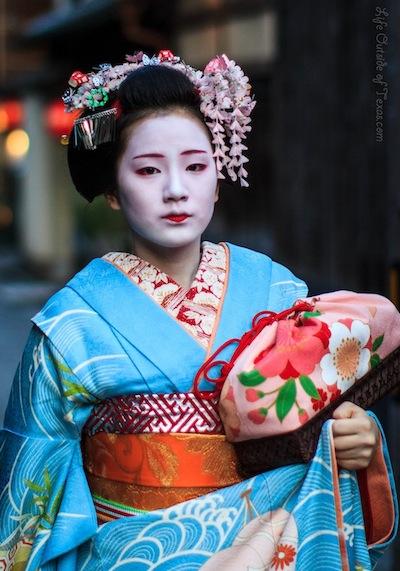 Geisha Maiko in Gion Kyoto, Japan