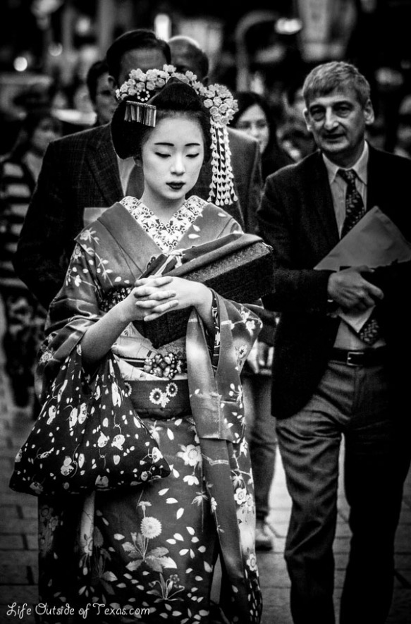 Japan maiko geisha Kyoto