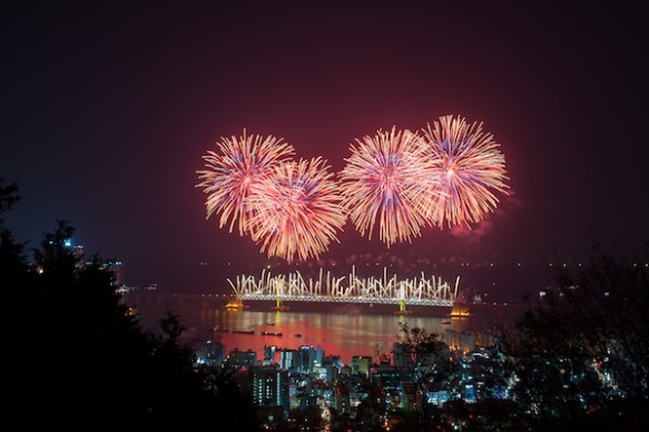 Gwanganli International Fireworks Festival 2012
