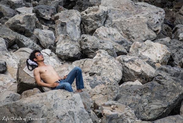 Men of Haeundae Beach