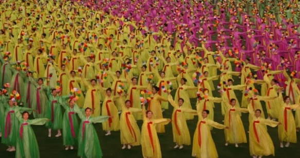 North Korea Arirang Mass Games Opening
