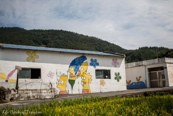 Namhae Korea Art Village