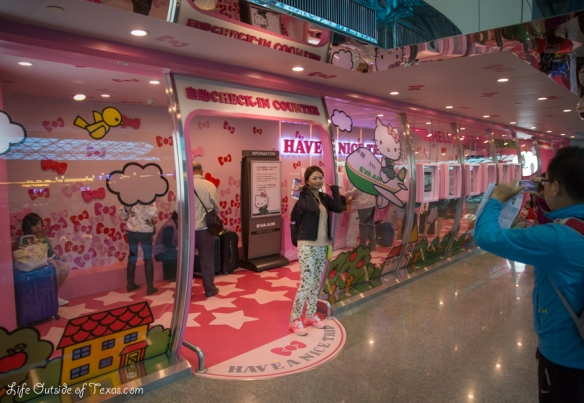 Hello Kitty Jet Taipei