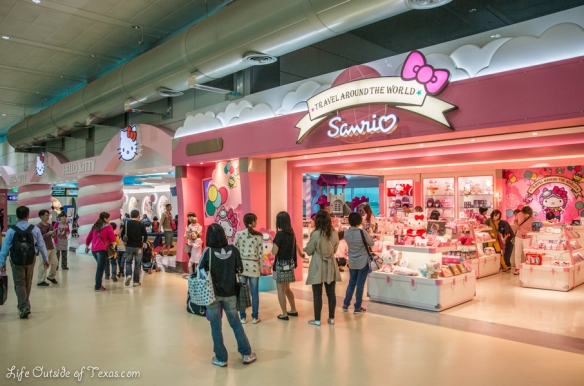 Hello Kitty Jet Taipei Sanrio store