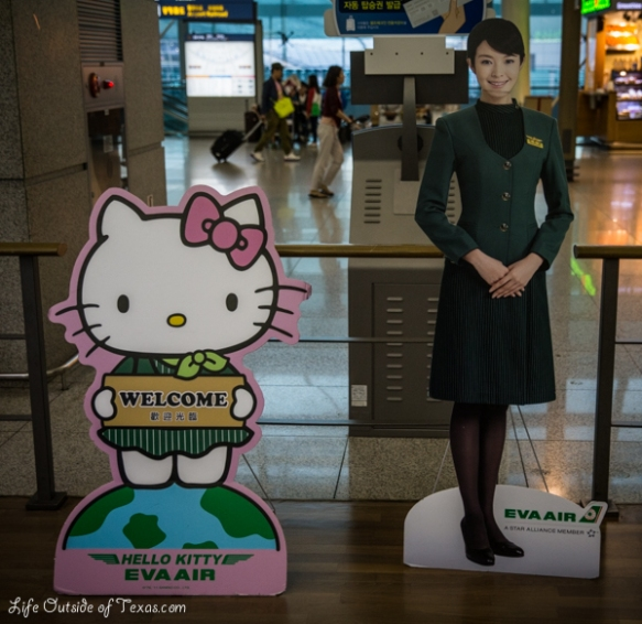 Hello Kitty Jet Seoul Taipei
