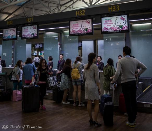 Hello Kitty Jet Seoul Taipei