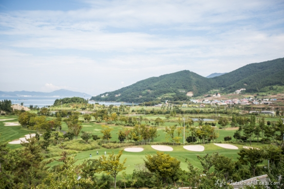 Hilton golf course Namhae