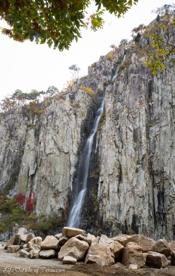 waterfall Korea
