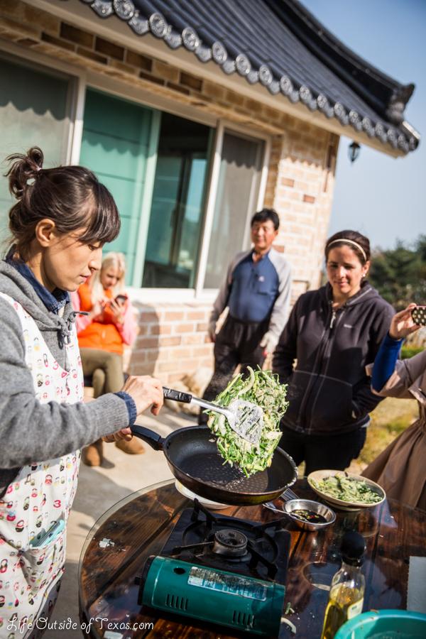 Ulsan Korean cooking class