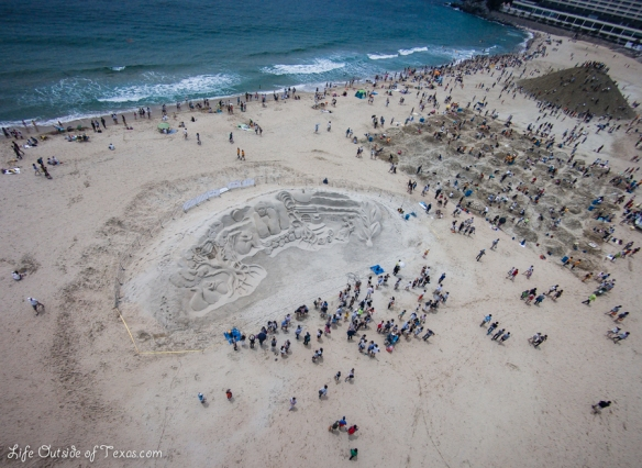 Haeundae Sand Festival in Busan