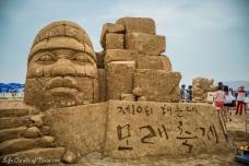 Haeundae Sand Festival in Busan