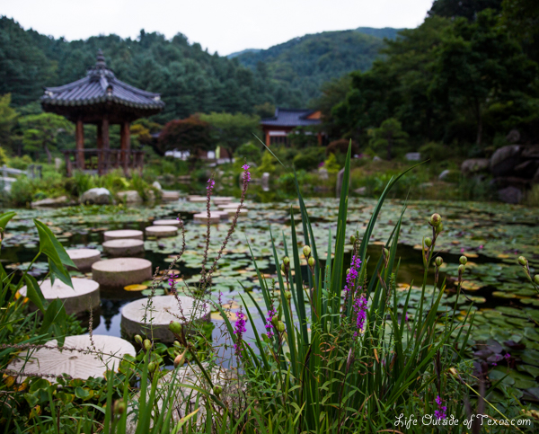 Korean Landscape Garden : Garden of the morning calm most beautiful place that i ve been