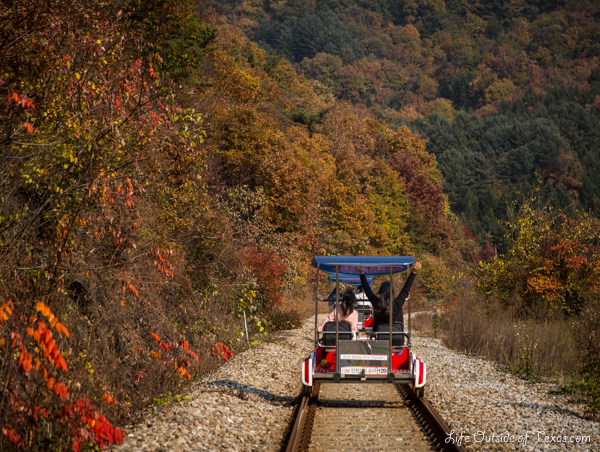 Exploring Beautiful Gangwon Province By Rail Bike Life