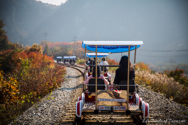 Mungyeong-si South Korea  City pictures : The Ultimate Guide to Rail Biking in Korea | Life Outside of Texas