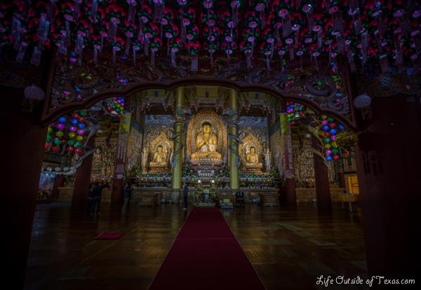 Yakcheonsa Temple, Jeju Island