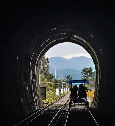 Railbike in Yeosu